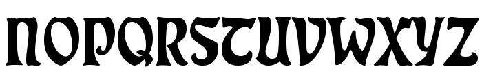 Rudelsberg Font UPPERCASE