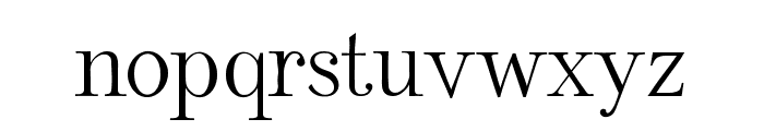 Rudolphin Font LOWERCASE