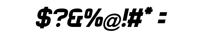 Rueck-Italic Font OTHER CHARS