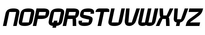 Rueck-Italic Font UPPERCASE