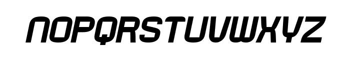 Rueck-Italic Font LOWERCASE