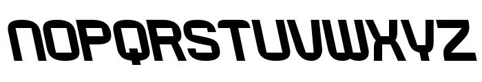 RueckLeft Font UPPERCASE