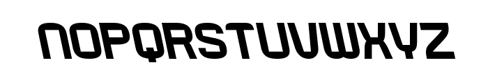 RueckLeft Font LOWERCASE
