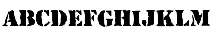 RufCrate Normal Font UPPERCASE