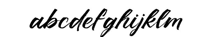 Ruffle Script DEMO Regular Font LOWERCASE