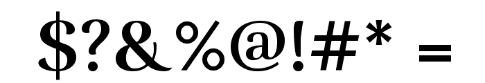 Rufina Bold Font OTHER CHARS