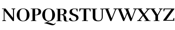 Rufina Bold Font UPPERCASE