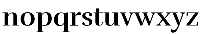 Rufina Bold Font LOWERCASE