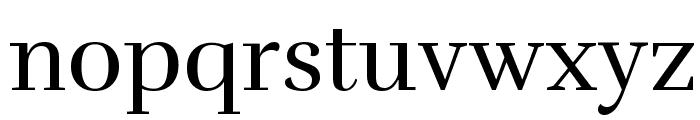 Rufina Font LOWERCASE