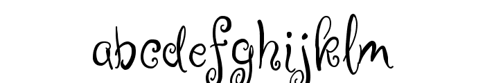 Ruge Boogie Font LOWERCASE