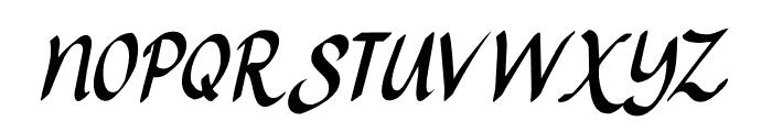 Ruhaniyat DEMO Regular Font UPPERCASE