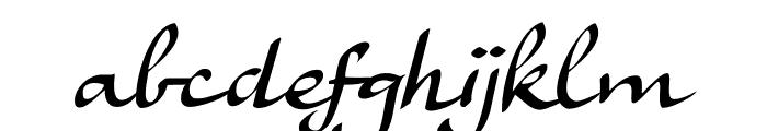 Ruhaniyat DEMO Regular Font LOWERCASE