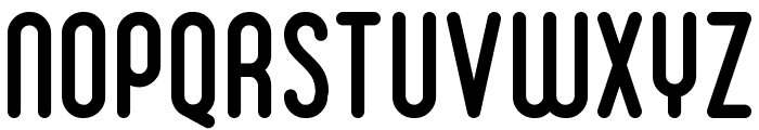 Ruler Bold Font UPPERCASE