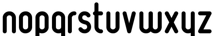 Ruler Bold Font LOWERCASE