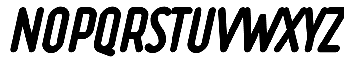 Ruler Heavy Italic Font UPPERCASE