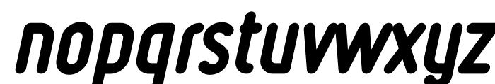Ruler Heavy Italic Font LOWERCASE