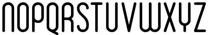 Ruler Light Font UPPERCASE
