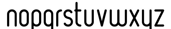 Ruler Light Font LOWERCASE