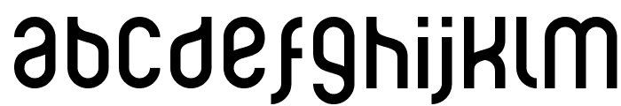 Ruler Modern Font LOWERCASE