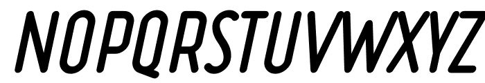 Ruler Volume Fill Bold Italic Font UPPERCASE