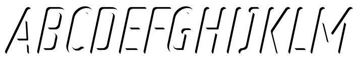 Ruler Volume Inner Font UPPERCASE