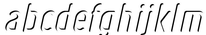 Ruler Volume Inner Font LOWERCASE