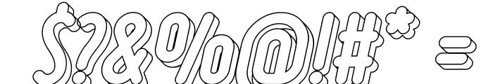Ruler Volume Line Font OTHER CHARS
