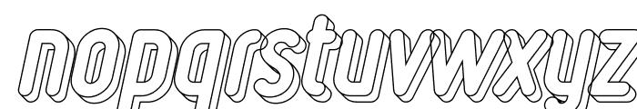 Ruler Volume Line Font LOWERCASE