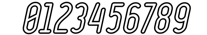 Ruler Volume Outline Bold Italic Font OTHER CHARS