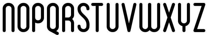 Ruler Font UPPERCASE