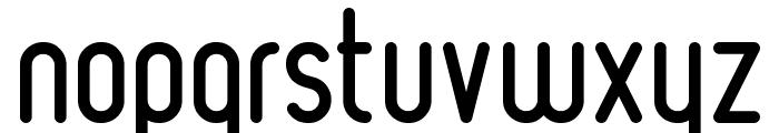Ruler Font LOWERCASE