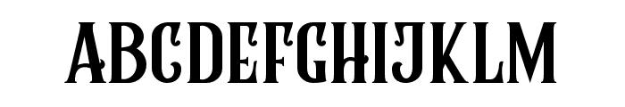 RumbleBrave Font LOWERCASE
