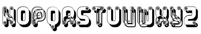 Rump Regular Font UPPERCASE