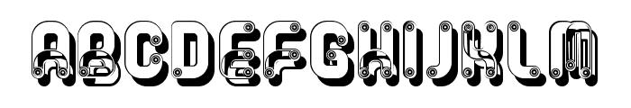 Rump Regular Font LOWERCASE