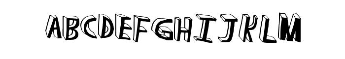 RunAway Font LOWERCASE