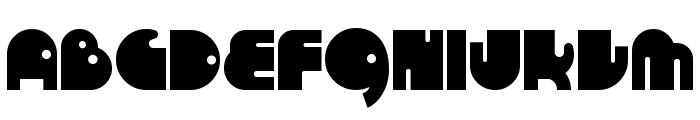 RunTron 1983 Font UPPERCASE