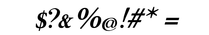 Rundkursiv Font OTHER CHARS