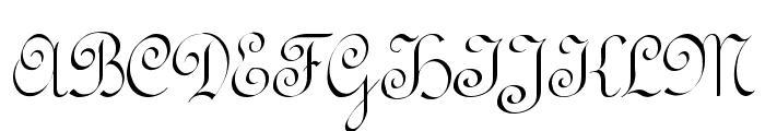 RundschriftCAT Font UPPERCASE