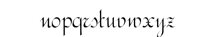 RundschriftCAT Font LOWERCASE