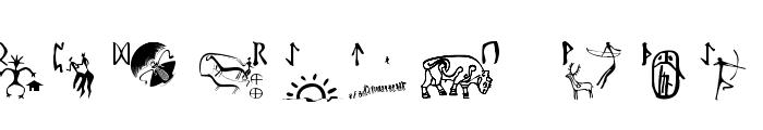 RuneStones Font UPPERCASE
