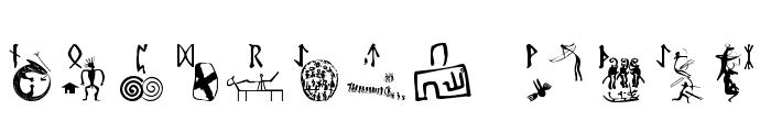 RuneStones Font LOWERCASE