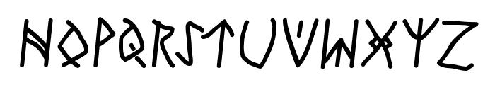 RunesWritten-Bold Font UPPERCASE