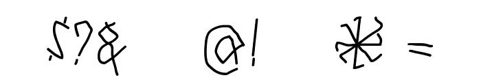 RunesWritten Font OTHER CHARS