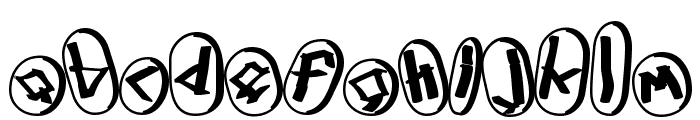 Runez of Omega Three Font LOWERCASE