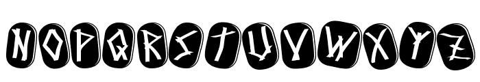 Runez of Omega Font UPPERCASE