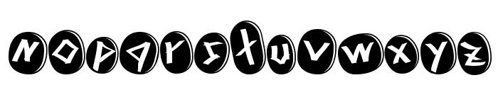 Runez of Omega Font LOWERCASE