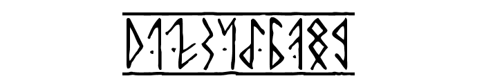 Runic Alt Font OTHER CHARS