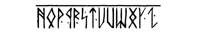 Runic Alt Font UPPERCASE