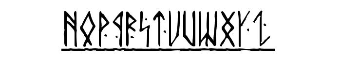 Runic Alt Font LOWERCASE