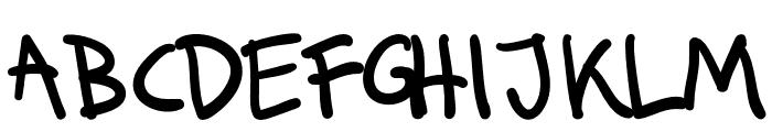 Runkmuskel Font LOWERCASE